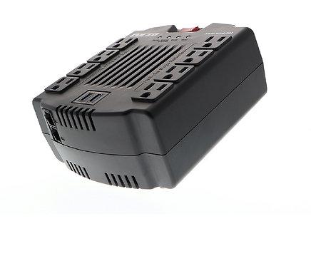 Regulador de voltaje Forza. Protección USB