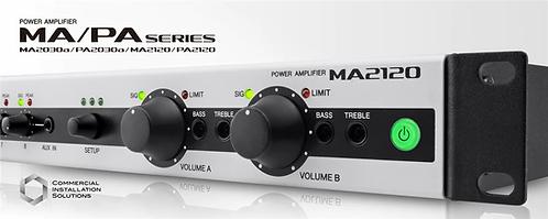 Yamaha Amplificador MA2120 2 zonas  70 V, 100 V  Baja impedancia