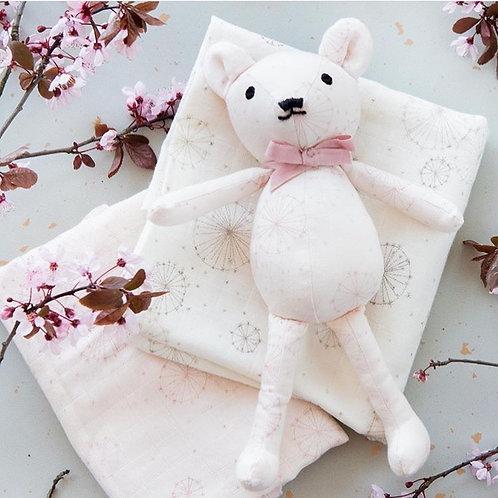 Αρκουδάκι Dandelion Rose Ι Βρεφικά Είδη