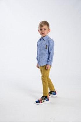 Παντελόνι Μουσταρδί 2-6 ετών - Funky Kids