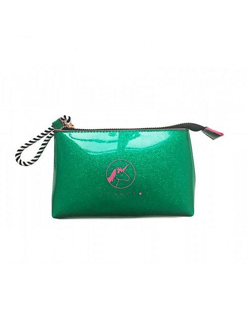 Τσάντα Μακιγιάζ Πράσινη Glitter Ι Αξεσουάρ για Παιδιά