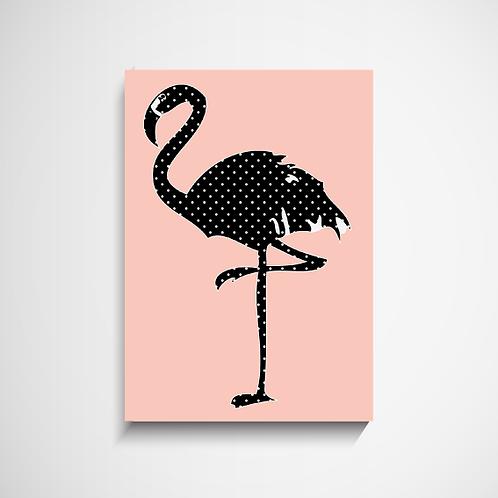 Πόστερ Polka Dot Flamingo Kids Ι Διακόσμηση Δωματίου