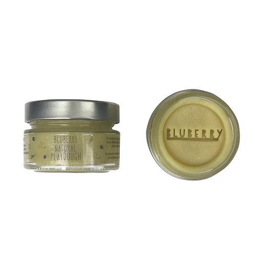 Φυσική Πλαστελίνη Bluberry Natural Playdough - Χρώμα Lemon 150g