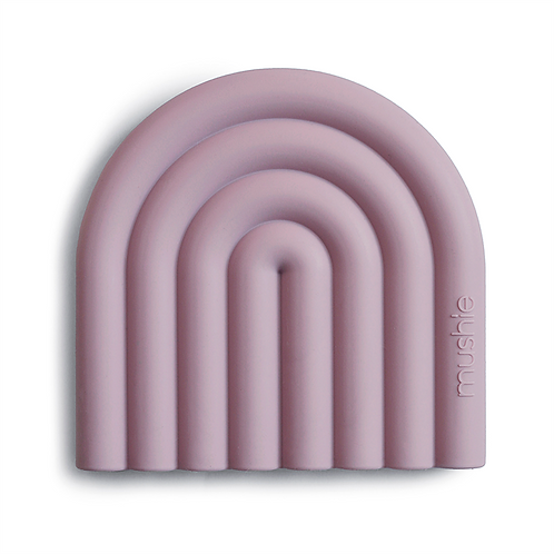 Μασητικό Rainbow (Mauve) - Mushie
