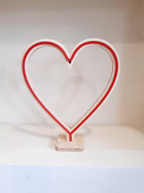 Φωτιστικό Καρδιά - Ioannam