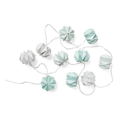 Φωτάκια Origami String LED Mix Μπλε Ι Διακόσμηση Παιδικού Δωματίου