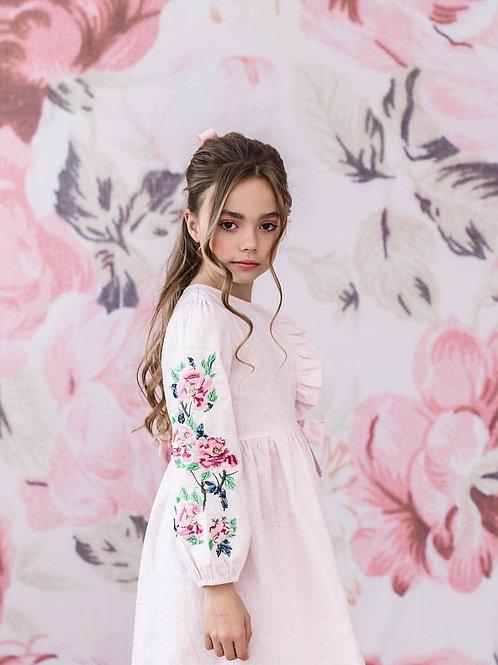 Λινό φόρεμα - Ένδυση για Κορίτσια