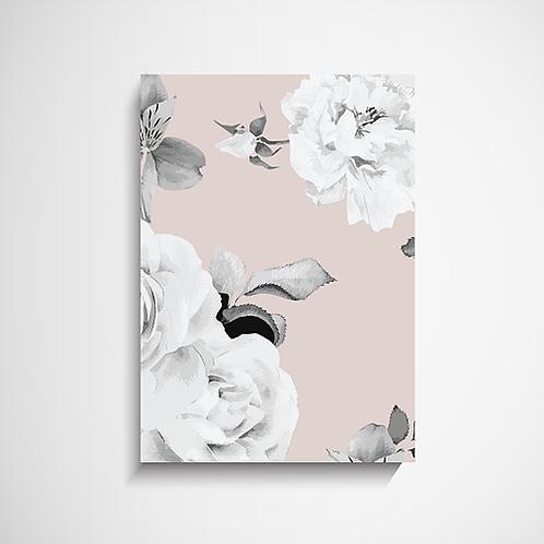 Πόστερ Soft Pink Τριαντάφυλλο Ι Διακόσμηση Σπιτιού