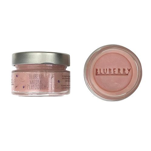 Φυσική Πλαστελίνη Bluberry Natural Playdough - Χρώμα Rose 150g