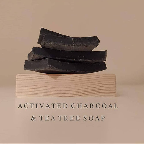 Σαπούνι με Ενεργό Άνθρακα