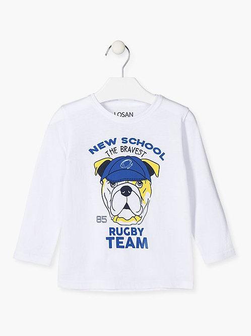 Μακρυμάνικο Μπλουζάκι Puppy - Losan