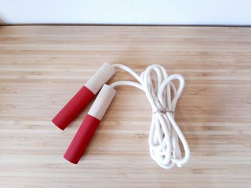 Σκοινάκι Γυμναστικής Κόκκινο - Παιχνίδια για Παιδιά