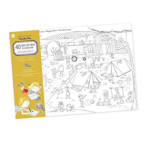 Βιβλίο Δραστηριοτήτων 40 Φύλλα Ι Moulin Roty