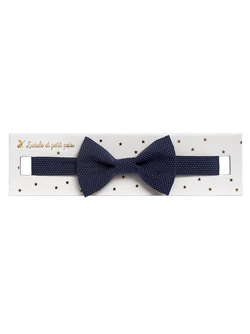 Παπιγιόν Mini Dots Navy - Παιδικά Αξεσουάρ για Αγόρια
