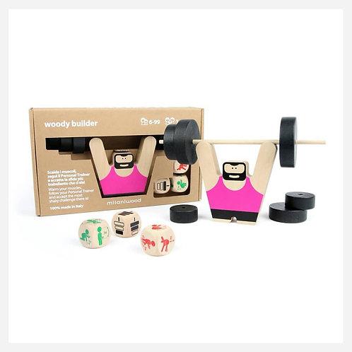 Woody Builder Παιχνίδι Ισορροπίας & Συντονισμού Ι Παιχνίδια για Παιδιά