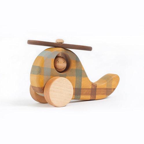 Ξύλινο Ελικοπτεράκι - Είδη για Παιδιά & Διακοσμητικά