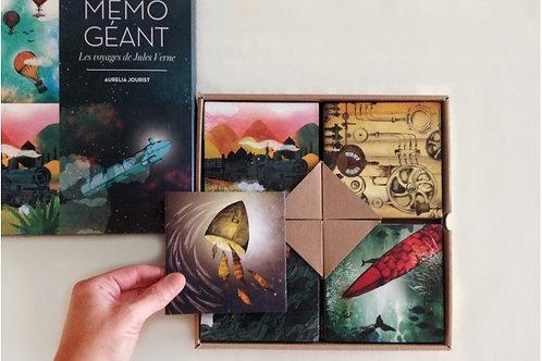 Μεγάλο Παιχνίδι Μνήμης Τα Ταξίδια του Ιουλίου Βερν - Mon Petit Art