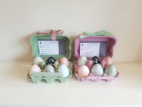 Φυτικά σαπούνια καθαρισμού προσώπου σε σχήμα Πασχαλινού αυγού - Myamel