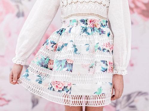 Φούστα Floral Print Ένδυση για Κορίτσια - Petite Amalie