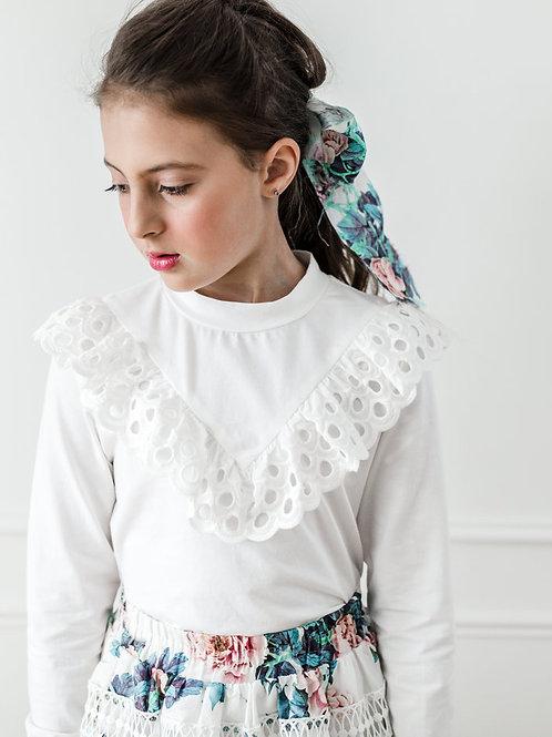 Λευκή Μπλούζα - Ένδυση για Κορίτσια