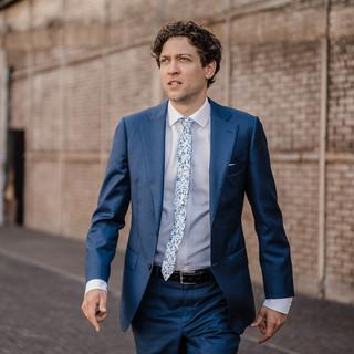 SPRINKLE blue tie