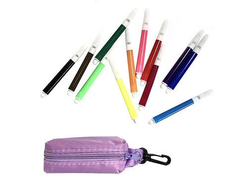 Trousse de coloriage #violet