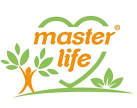 Logo Master Life®.Maestría para cada momento de la vida. Mastery in every moment of your life.