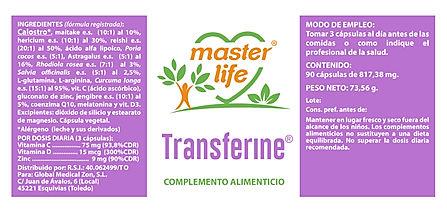 para web etiqueta transferine 10177  90C