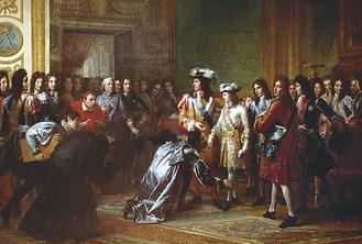 7.-Luis_XIV_presenat_a_Felipe_V_como_rey