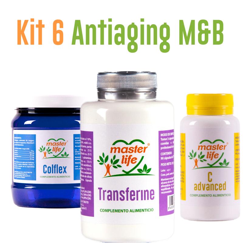 Kit 6 Antiaging M&B