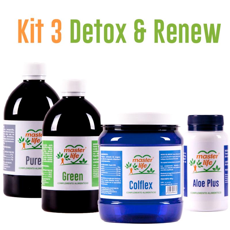 Kit 3 Detox & Renew