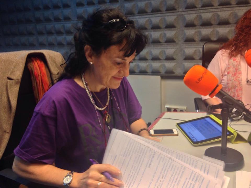 yo en la radio