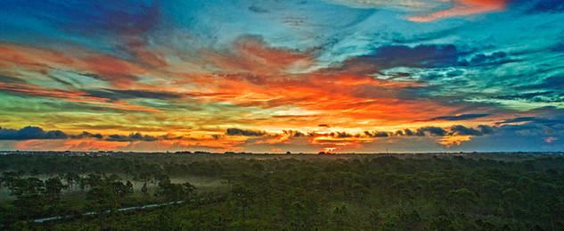 Malabar Coast Sunrise - Malabar Florida