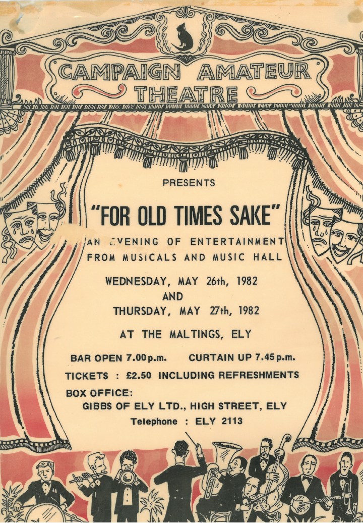 """For Old Times Sake"" Poster"