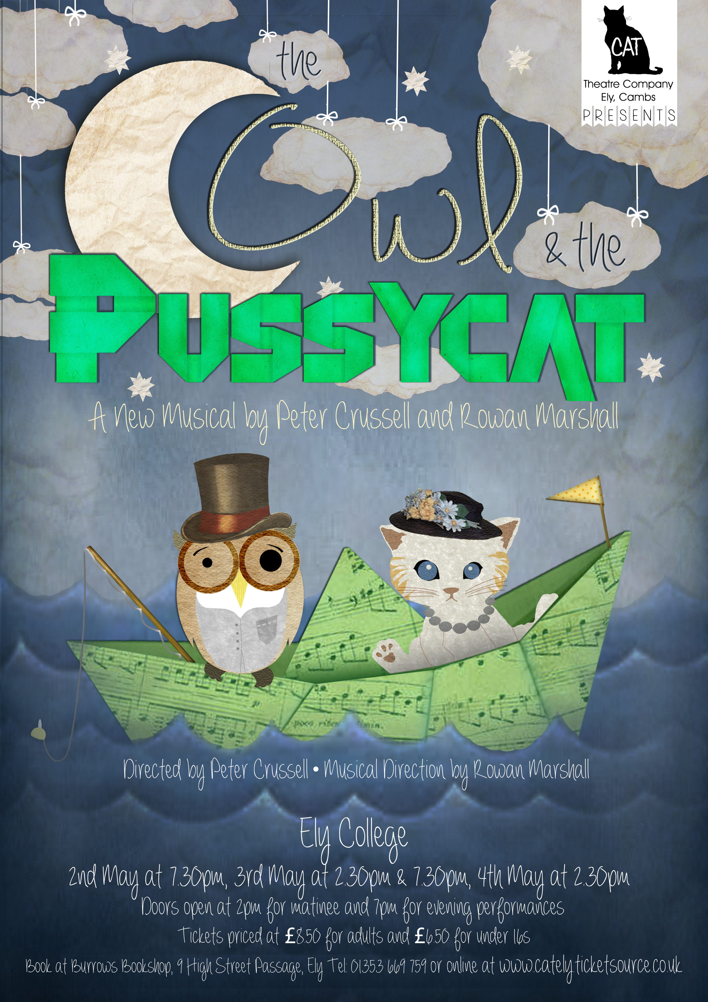 The Owl & the Pussycat Poster