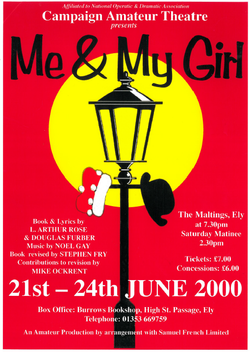 Me & My Girl Poster