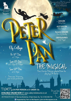 Peter Pan The Musical Poster