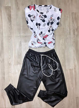 Camiseta minie y mickey