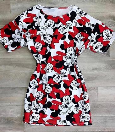 Vestido Minnie red
