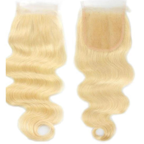 Blondes Have Fundz Collection - Body Wave Lace Closure