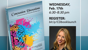 Concussion Discussions Book Anthology & Book Launch Party