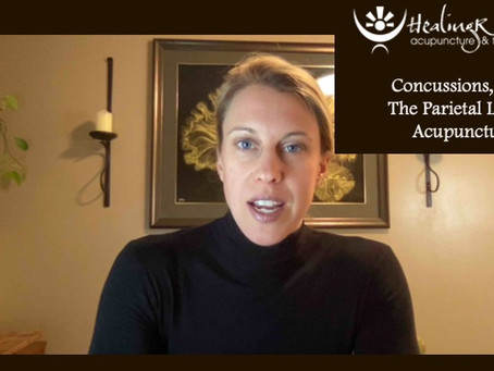 Concussions, Pain, the Parietal Lobe and Acupuncture