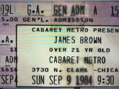 James Brown in concert: I Feel ... Strange