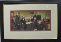 President Lincoln's Cabinet 1863