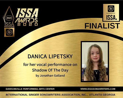 Danica Lipetsky ISSA finalist.jpg
