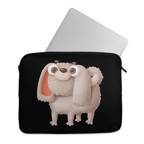Laptop Sleeve Poodle