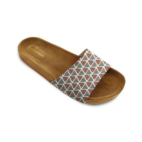 Slide Slipper African Triangles