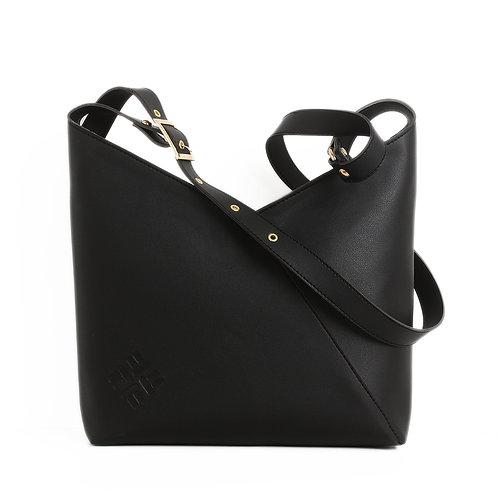 Bicolor Triangles Bags Black
