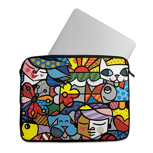 Laptop Sleeve Cartoon Art