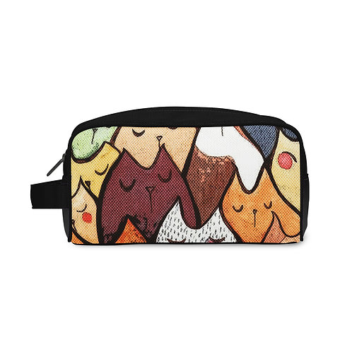 Travel Case Cat Pattern
